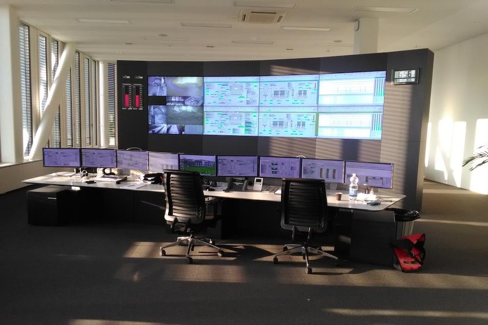 Abb 6: Ansicht der zentralen Warte der Renergia (Foto zvg)